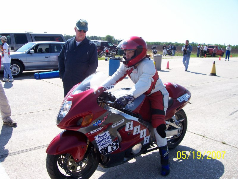 debbie - land speed racing, twin jugs racing, fredericksburg, va